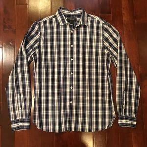 bloomingdale's The Men's Store Plaid Shirt Medium